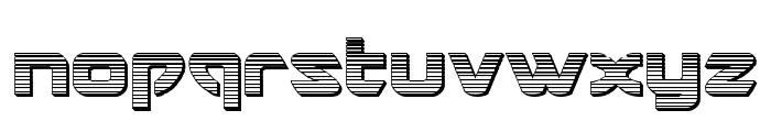 USAngel Chrome Font LOWERCASE