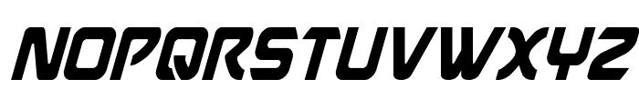 USAngel Condensed Italic Font UPPERCASE