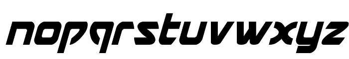 USAngel Condensed Italic Font LOWERCASE