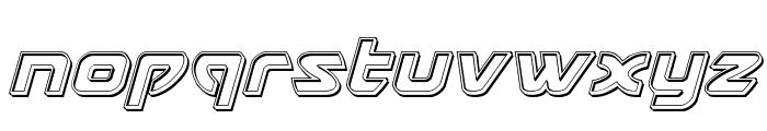 USAngel Engraved Italic Font LOWERCASE