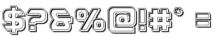 USAngel Engraved Font OTHER CHARS