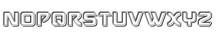 USAngel Engraved Font UPPERCASE