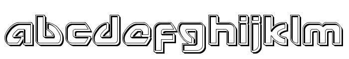 USAngel Engraved Font LOWERCASE