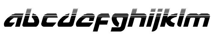 USAngel Halftone Italic Font LOWERCASE
