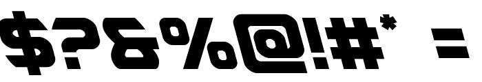 USAngel Leftalic Font OTHER CHARS