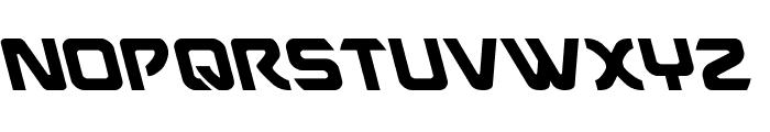 USAngel Leftalic Font UPPERCASE