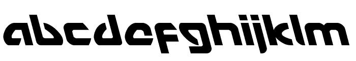 USAngel Leftalic Font LOWERCASE