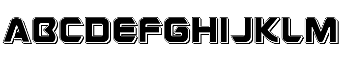 USAngel Punch Font UPPERCASE