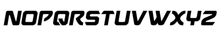 USAngel Semi-Italic Font UPPERCASE
