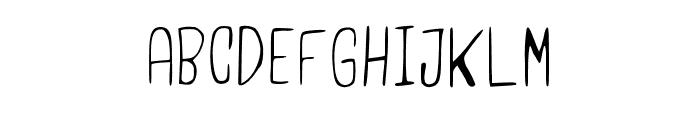 UsamaLight Regular Font UPPERCASE