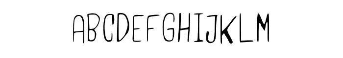 UsamaLight Regular Font LOWERCASE