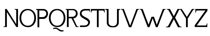 Usenet Font UPPERCASE