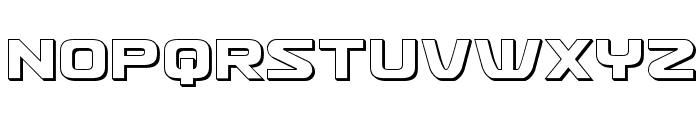 Usuzi 3D Font UPPERCASE