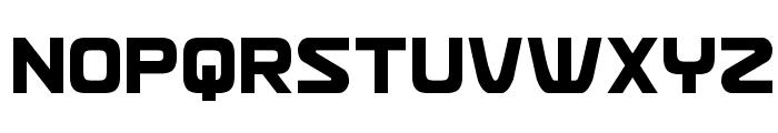 Usuzi Condensed Font UPPERCASE