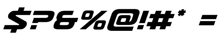Usuzi Italic Font OTHER CHARS
