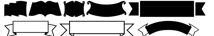 USF Banners Regular Font UPPERCASE