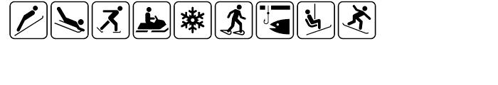 USF Recreational SEGD E Font LOWERCASE