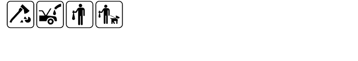USF Recreational SEGD G Font LOWERCASE