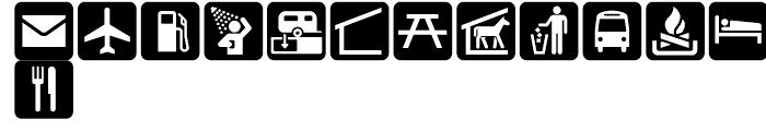 USF Recreational SEGD L Font LOWERCASE