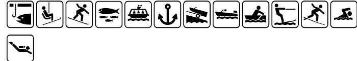 USF Recreational SEGD One Font LOWERCASE
