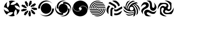 USF Spiral Rotors Regular Font OTHER CHARS
