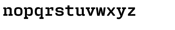 User Bold Font LOWERCASE