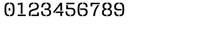 User Stencil Medium Font OTHER CHARS