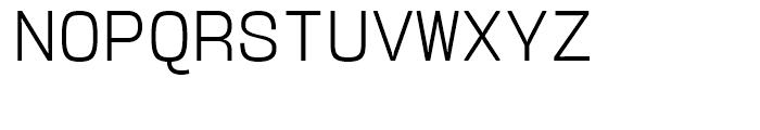 User Upright Light Font UPPERCASE