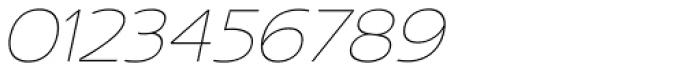 US Bill Sans Extra Light Slant Font OTHER CHARS