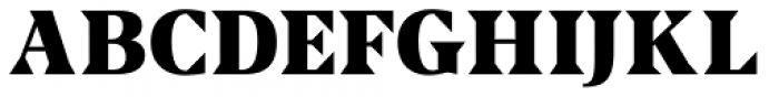 US Blaak Black Font UPPERCASE