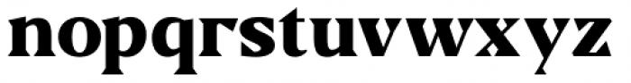 US Blaak Black Font LOWERCASE
