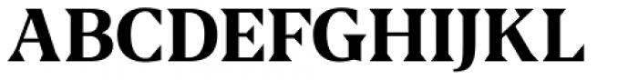US Blaak Bold Font UPPERCASE