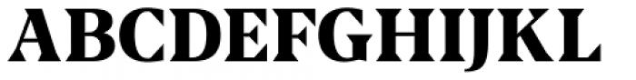 US Blaak Extra Bold Font UPPERCASE