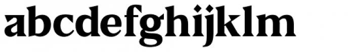 US Blaak Extra Bold Font LOWERCASE
