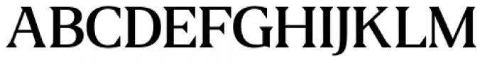 US Blaak Medium Font UPPERCASE