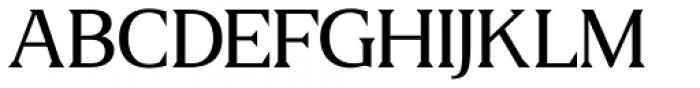 US Blaak Regular Font UPPERCASE