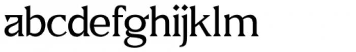 US Blaak Regular Font LOWERCASE
