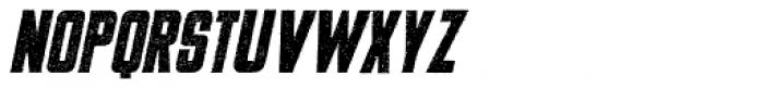 USKOK Italic Font UPPERCASE