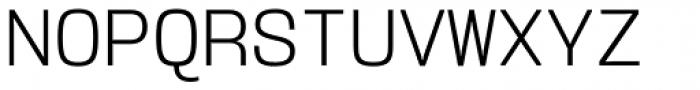 User Light Font UPPERCASE