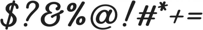 UT Laurelle Bold otf (700) Font OTHER CHARS