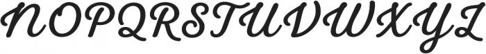 UT Laurelle Bold otf (700) Font UPPERCASE