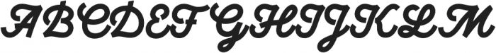 UT Marmalade Bold otf (700) Font UPPERCASE