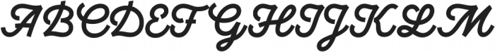 UT Marmalade otf (400) Font UPPERCASE