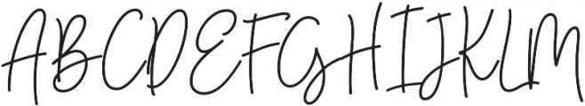 UT Saturday otf (400) Font UPPERCASE
