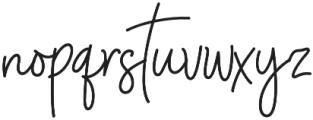 UT Saturday otf (400) Font LOWERCASE