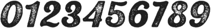 UT Triumph Press otf (400) Font OTHER CHARS