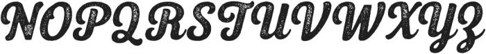 UT Triumph Press otf (400) Font UPPERCASE