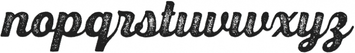 UT Triumph Press otf (400) Font LOWERCASE