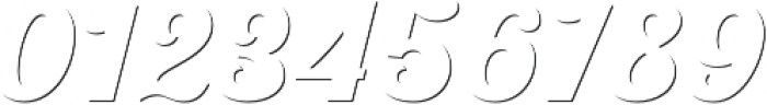 UT Triumph Shadow otf (400) Font OTHER CHARS