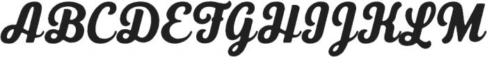 UT Triumph Vintage otf (400) Font UPPERCASE
